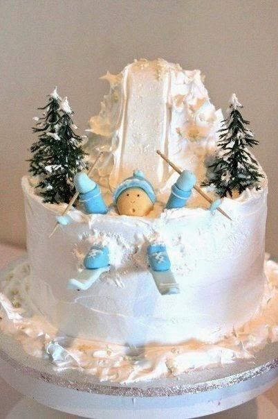 festive christmas cake decoration with holiday trees the art of food decoration - Christmas Cake Decoration Ideas