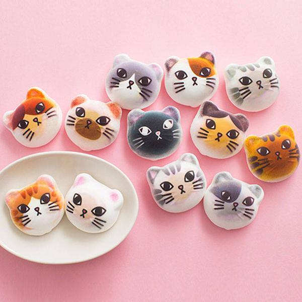 Food Design Ideas: Marshmallow Cats, Fun Food Design Ideas For Feline Fans