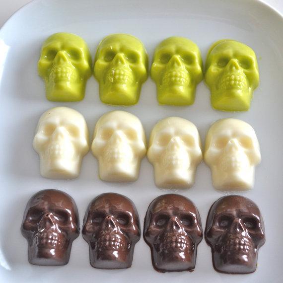 Unique Edible Decorations, 20 Skull Treats And Halloween