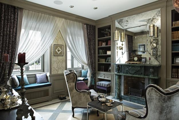 Modern Interior Design And Decor Blending French Chic And Vintage Style