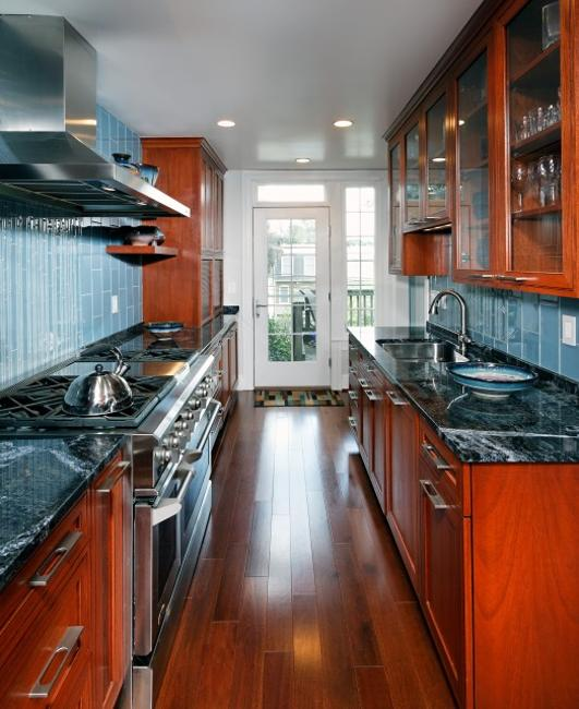 Modern Kitchen Design Ideas, Galley Kitchens Maximizing