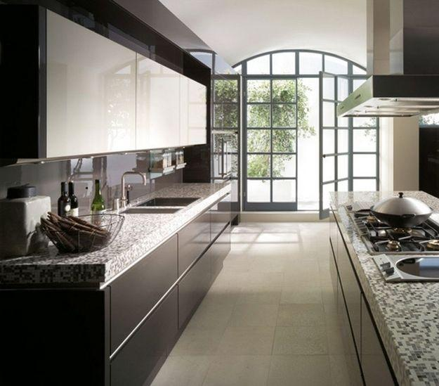 Kitchen Cabinets Galley Style: Modern Kitchen Design Ideas, Galley Kitchens Maximizing