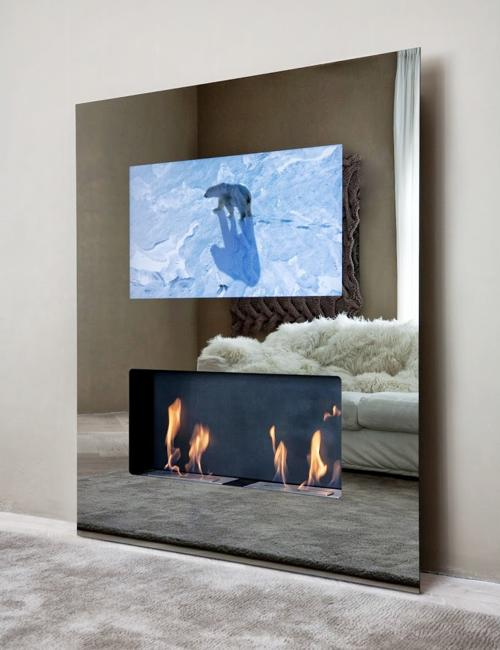 Modern Furniture Design Helping Hide TVs And Harmonize Interior Decorating