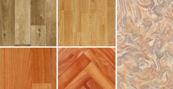 Contemporary Linoleum Eco Flooring Ideas For Modern
