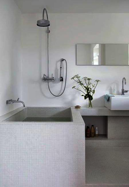 Bathroom Tiles Creating Beautiful Modern Bathtub Covering
