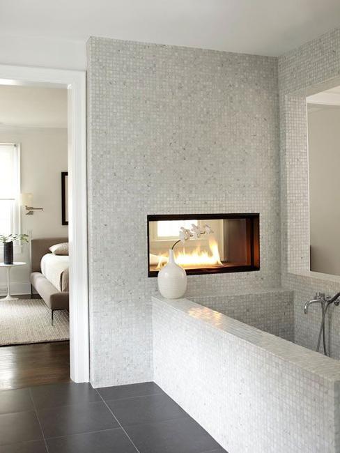 Bathroom Tiles Creating Beautiful Modern Bathtub Covering