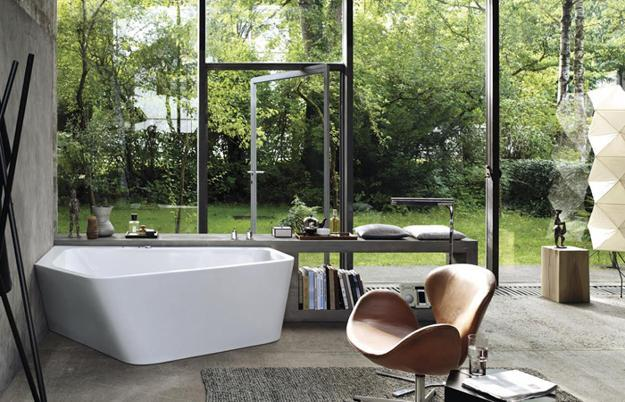modern bathroom tubs
