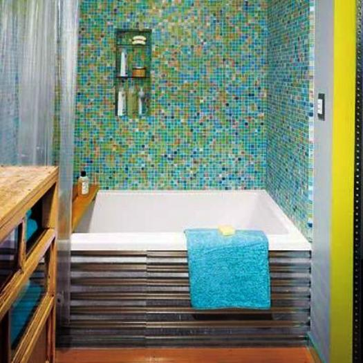 Modern Bathtub Covering Ideas To Brighten Up Your Bathroom Design