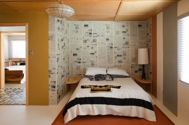 Recycling Old Newspaperagazines For Modern Wall Decor