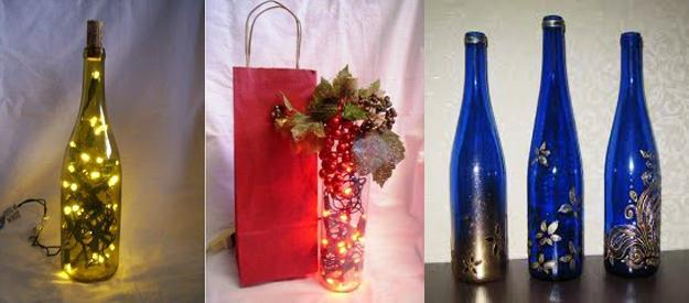 Unique Gift Ideas Recycling Glass Bottles 25 Creative Recycled Crafts