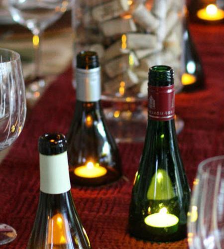 Kitchen Bar Ideas: Unique Gift Ideas Recycling Glass Bottles, 25 Creative