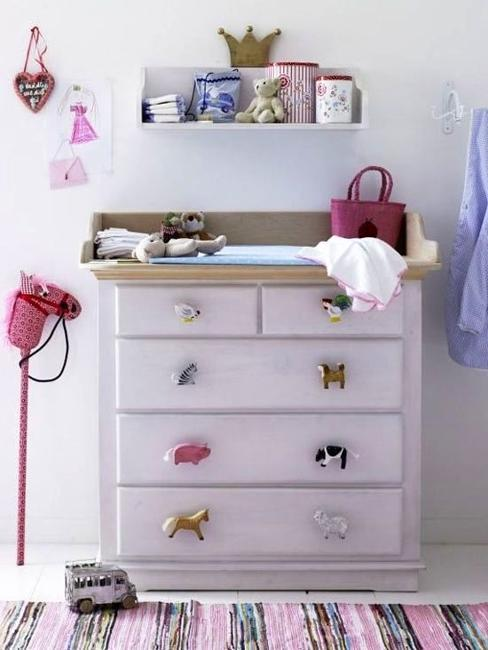 furniture decoration with small toys