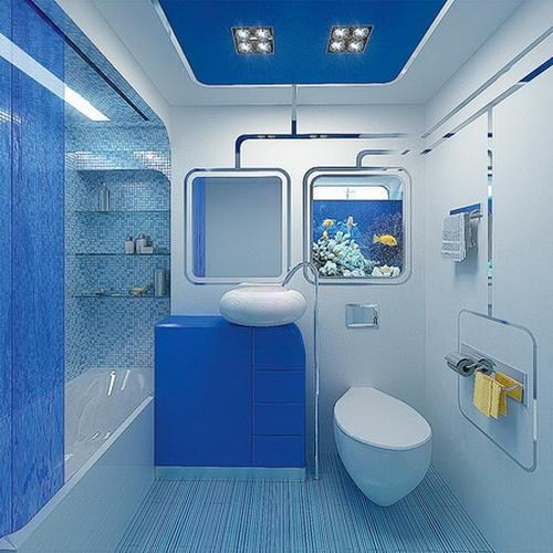 Glass Enclosures And Wall Shelves