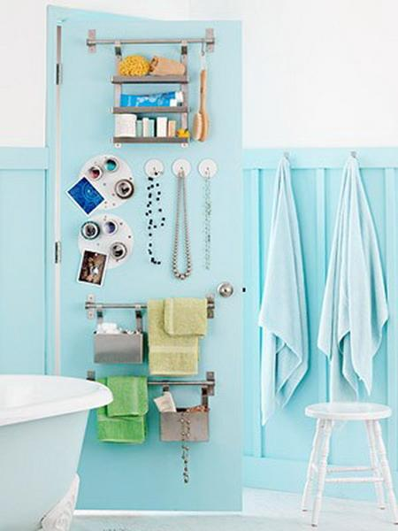functional bathroom storage ideas for small spaces. Black Bedroom Furniture Sets. Home Design Ideas