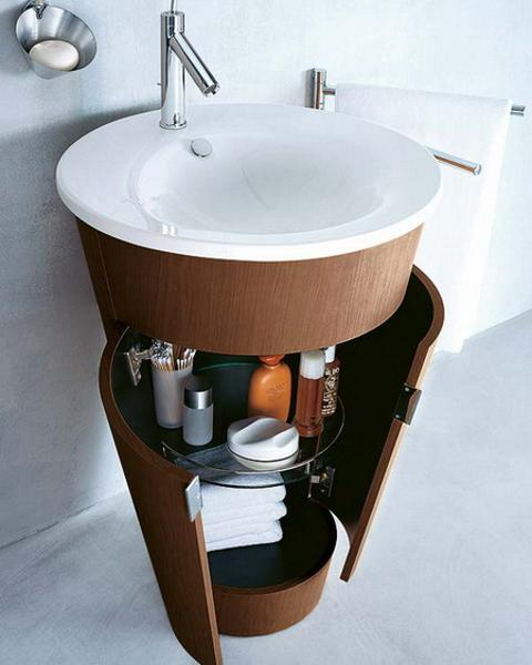 storage solutions for small bathroom design and decor