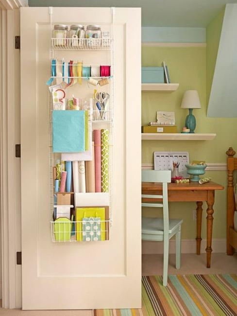Charmant Home Organizers For Interior Doors, Small Storage Ideas To Maximize Space  In Small Rooms