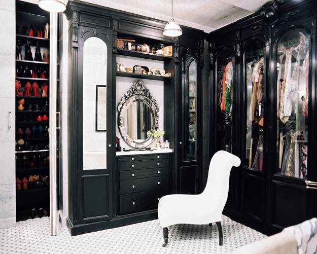 Black And White Decorating Ideas, Dressing Room Furniture