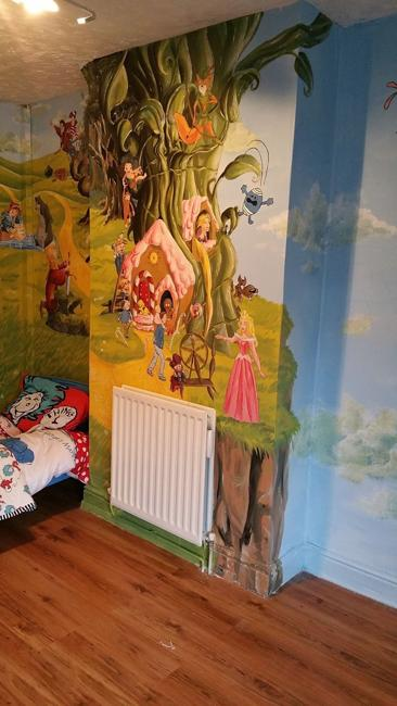 Colorful Wall Painting Ideas Kids Room Decorating By