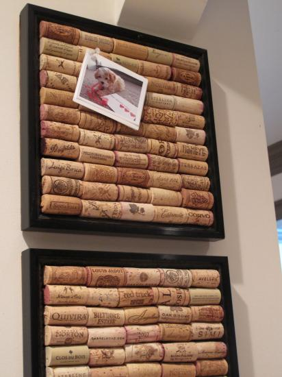 diy home organizers and meassage boards to reuse and recycle wine corks