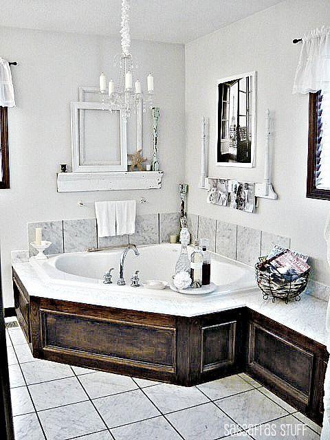 22 Wood Covering Ideas For Modern Bathroom Tubs Adding