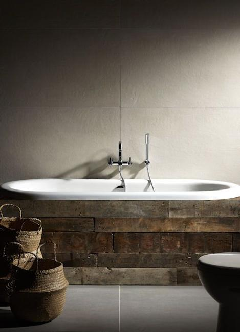 22 Wood Covering Ideas For Modern Bathroom Tubs Adding