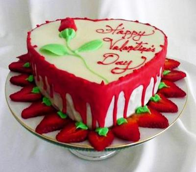 20 Romantic Valentines Day Ideas For Cake Decoration