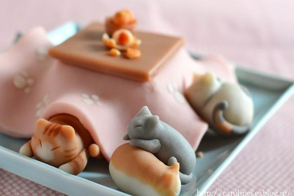 sweet treats, fun food design idea inspired by cats