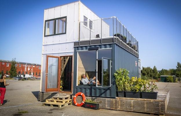 Affordable Contemporary Eco Homes Cargo Shipping Container Houses