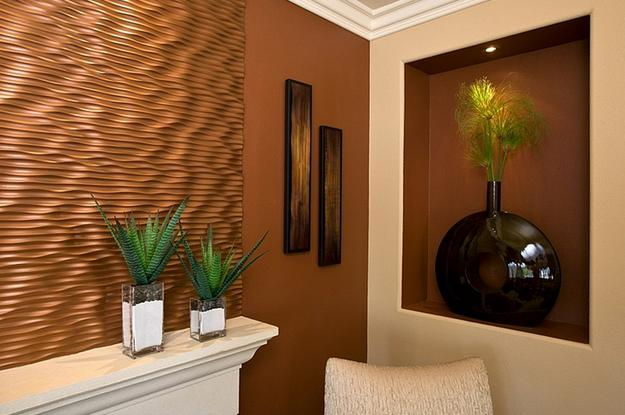 Majestic Copper Accents Bringing Comfy Modern Color In