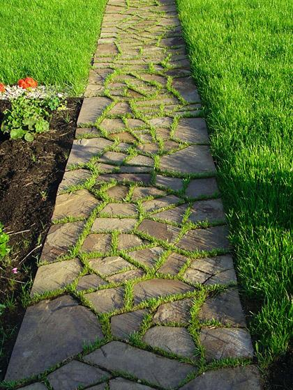 25 great ideas for romantic garden design with beautiful walkways