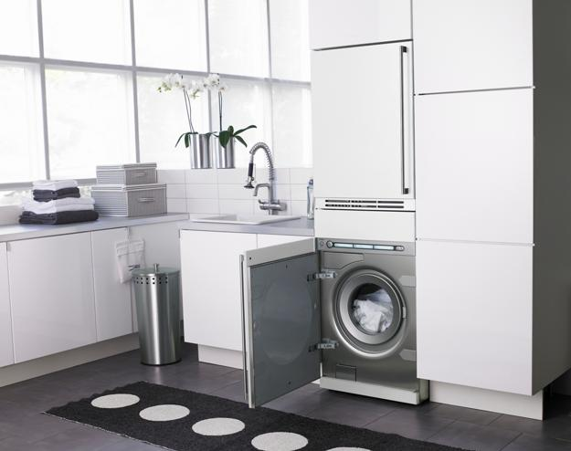 modern cabinets and contemporary glass doors are attractive solutions that improve the look of modern kitchens bathrooms and laundry room designs
