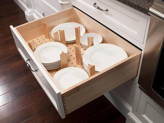 Deep Kitchen Cabinets Drawers And E Organizers Trends