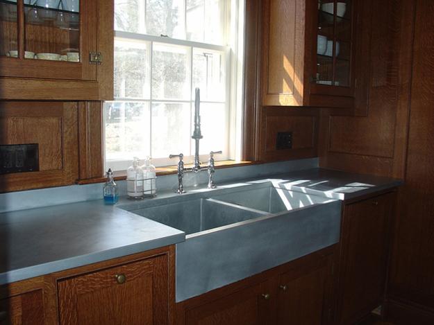 Merveilleux Stylish Metal Kitchen Countertop Ideas Giving Industrial ...