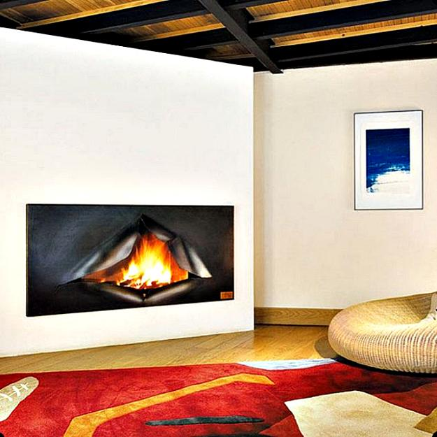 14 Traditional Style Home Decor Ideas That Are Still Cool: 22 Unique Modern Fireplaces Which Do Double Duty Creating