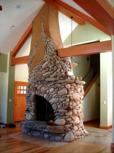 22 Unique Modern Fireplaces Which Do Double Duty Creating Warmth And