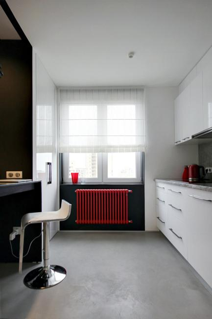 Red Color Accents To Energize Modern Interior Design And