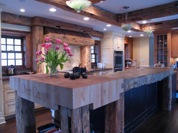 Kitchen Islands Add Beauty Function And Value To The: Amazing Wood Kitchen Countertop Ideas Adding Exotic Look
