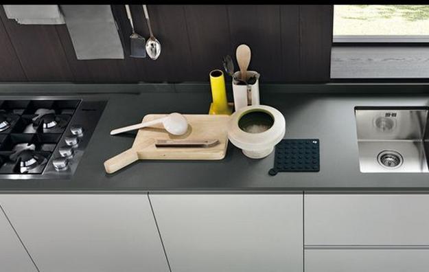 Italian Kitchen Design Cucina Loft Rovere Canyon