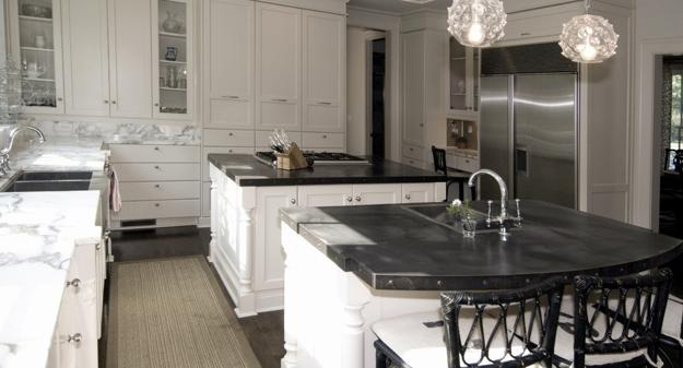 Stylish Metal Kitchen Countertop Ideas Giving Industrial ... on Modern:0Bjn4Cem9Be= Kitchen Counter  id=59406
