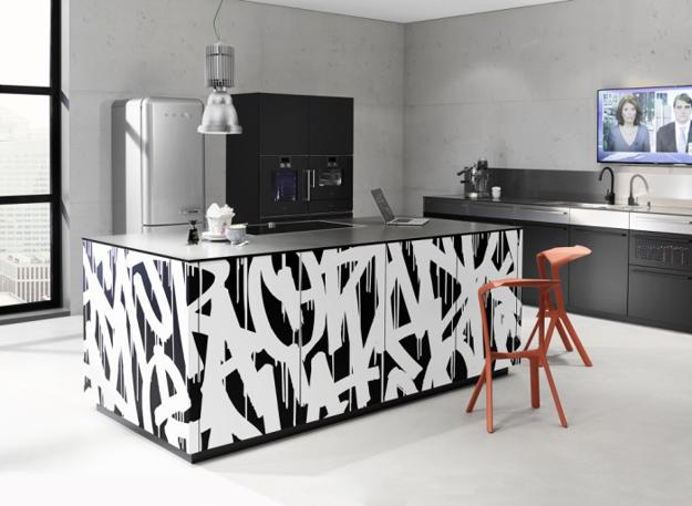 Nolte Neo Loft Kitchen Island Designs Mixing Modern Art
