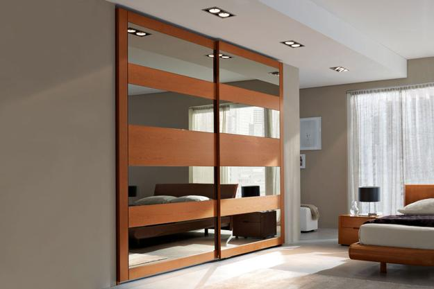 Sliding Closet Doors To Hide Storage Spaces And Create Clear Modern