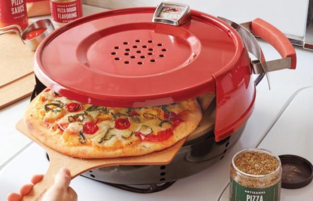 stove top oven to bake perfect pizza at home