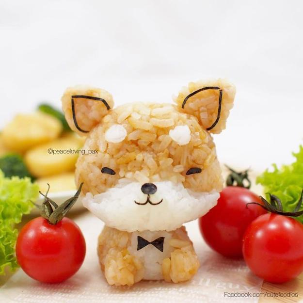 Cute Foodies, Fun Food Design Ideas Turning Rice Balls ...