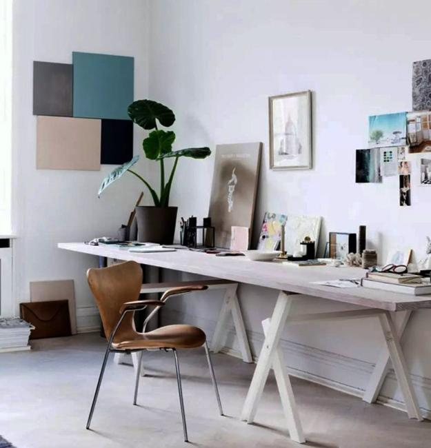home office white.  Office Black N White Decorating With Color For Home Office Designs In Minimalist  Style Intended M