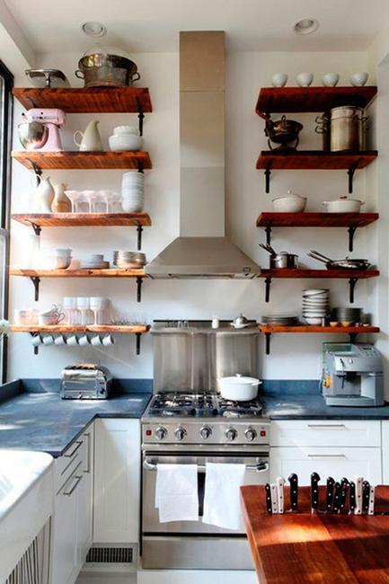 stunning creative kitchen storage ideas   22 Space Saving Kitchen Storage Ideas to Get Organized in ...