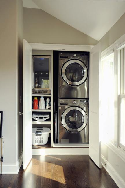 Interior Design For Living Room For Small Space: 20 Space Saving Ideas For Functional Small Laundry Room Design