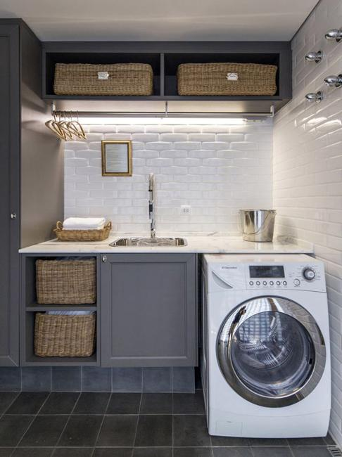 20 E Saving Ideas For Functional Small Laundry Room Design