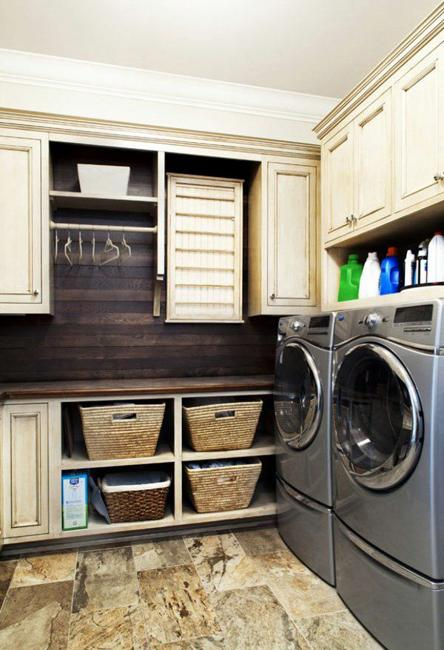 Laundry Room Designer: 20 Space Saving Ideas For Functional Small Laundry Room Design