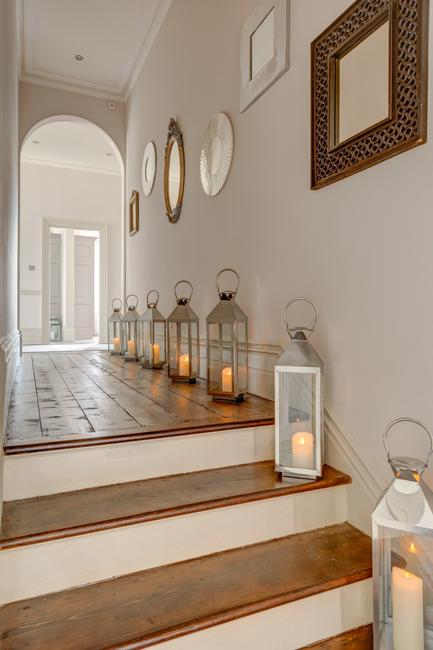 Traditional Lanterns For Interior Decorating And Staircase Lighting
