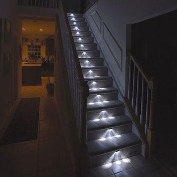Lighting On Stairs: 22 Creative And Modern Lighting Ideas For Staircase Design
